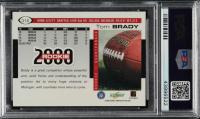 Tom Brady 2000 Score #316 RC (PSA 9) at PristineAuction.com