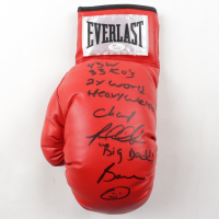 Riddick Bowe Signed Everlast Boxing Glove With Multiple Inscriptions (JSA COA) at PristineAuction.com