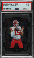 Patrick Mahomes II 2017 Select #103 RC (PSA 9) at PristineAuction.com