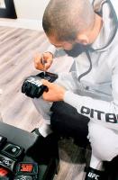 Khamzat Chimaev Signed UFC Glove (Beckett COA) at PristineAuction.com