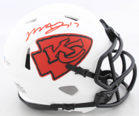 Mecole Hardman Signed Chiefs Lunar Eclipse Alternate Speed Mini Helmet (Beckett COA) at PristineAuction.com