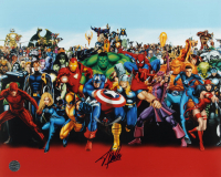 "Stan Lee Signed ""Marvel Comics"" 16x20 Photo (Lee Hologram) (See Description) at PristineAuction.com"