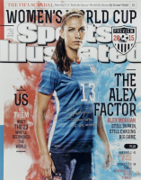 "Alex Morgan Signed LE Team USA Soccer 16x20 Photo Inscribed ""Team USA"" & ""15 WC Champs"" (Steiner COA) (See Description) at PristineAuction.com"