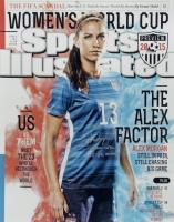 "Alex Morgan Signed LE Team USA Soccer 16x20 Photo Inscribed ""Team USA"" & ""15 WC Champs"" (Steiner COA) (See Description) at PristineAuction.com"
