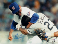 Nolan Ryan Signed Rangers 16x20 Photo (PSA COA & Ryan Hologram) at PristineAuction.com