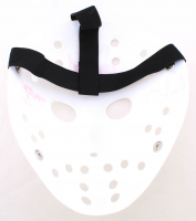 """Ari Lehman Signed """"Friday the 13th"""" Mask Inscribed """"F*** Chucky!"""" & """"Jason 1"""" (Lehman Hologram) at PristineAuction.com"""