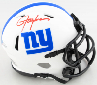 Lawrence Taylor Signed Giants Lunar Eclipse Alternate Speed Mini Helmet (Beckett COA) at PristineAuction.com