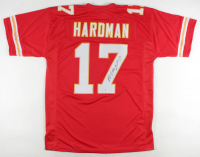 Mecole Hardman Signed Jersey (Beckett COA) at PristineAuction.com