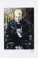 "David - Kiefer Sutherland - ""The Lost Boys"" - Joshua Barton 12x18 Signed Limited Edition Lithograph #/250 (PA COA) at PristineAuction.com"
