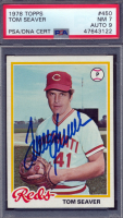 Tom Seaver Signed 1978 Topps #450 (PSA 7) at PristineAuction.com