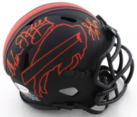 Andre Reed, Thurman Thomas & Jim Kelly Signed Bills Eclipse Alternate Speed Mini Helmet (Beckett COA) at PristineAuction.com