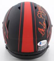 Andre Reed, Thurman Thomas & Jim Kelly Signed Bills Eclipse Alternate Speed Mini Helmet (Beckett COA) at PristineAuction.com