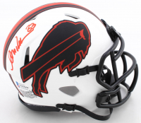 Andre Reed Signed Bills Lunar Eclipse Alternate Speed Mini Helmet (Beckett COA) at PristineAuction.com