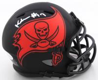 Keyshawn Johnson Signed Buccaneers Eclipse Alternate Speed Mini Helmet (Beckett COA) at PristineAuction.com