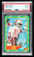 Jerry Rice 1986 Topps #161 RC (PSA 9) at PristineAuction.com