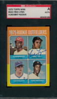 Fred Lynn Signed 1975 Topps Mini #622 Rookie Outfielders RC (SGC Encapsulated) at PristineAuction.com