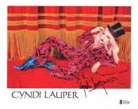 "Cyndi Lauper Signed 8x10 Photo Inscribed ""XX"" (Beckett COA) at PristineAuction.com"