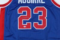 Mark Aguirre Signed Jersey (PSA COA) at PristineAuction.com