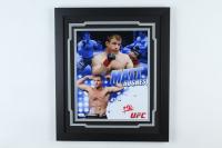 Matt Hughes Signed UFC 18x22 Custom Framed Photo Display (JSA COA) (See Description) at PristineAuction.com
