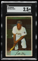 Willie Mays 1954 Bowman #89 (SGC 2.5) at PristineAuction.com