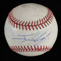 Jonny Gomes Signed OML Baseball (JSA COA) (See Description) at PristineAuction.com