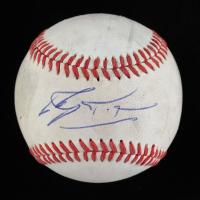Jonny Gomes Signed Minor League Practice Baseball (JSA COA) (See Description) at PristineAuction.com