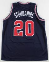 Damon Stoudamire Signed Jersey (PSA COA) at PristineAuction.com