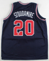 """Damon Stoudamire Signed Jersey Inscribed """"ROY 95"""" (PSA COA) at PristineAuction.com"""