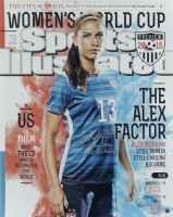 "Alex Morgan Signed LE Team USA Soccer 16x20 Photo Inscribed ""Team USA"" & ""15 WC Champs"" (Steiner COA) at PristineAuction.com"
