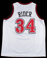 """Isaiah Rider Signed Jersey Inscribed """"POY '93"""" (PSA COA) at PristineAuction.com"""
