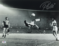 Pele Signed Team Brazil 11x14 Photo (PSA Hologram) at PristineAuction.com