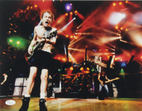 Angus Young Signed AC/DC 11x14 Photo (JSA COA) at PristineAuction.com