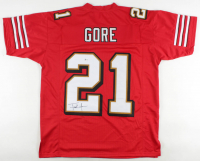 Frank Gore Signed Jersey (Beckett COA) at PristineAuction.com