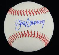 Jim Bunning Signed OML Baseball (TriStar Hologram) at PristineAuction.com