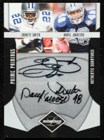 Emmitt Smith / Daryl Johnston 2008 Leaf Limited Prime Pairings Autographs #PP2 at PristineAuction.com