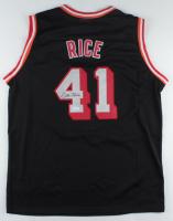 Glen Rice Signed Heat Jersey (JSA COA) at PristineAuction.com