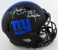 "Lawrence Taylor Signed Giants Full-Size Eclipse Alternate Speed Helmet Inscribed ""LT Was a Bad Mother******"" (Beckett COA) at PristineAuction.com"