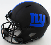 """Lawrence Taylor Signed Giants Full-Size Eclipse Alternate Speed Helmet Inscribed """"LT Was a Bad Mother******"""" (Beckett COA) at PristineAuction.com"""