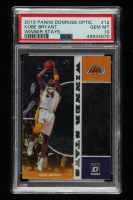 Kobe Bryant 2019-20 Donruss Optic Winner Stays #12 (PSA 10) at PristineAuction.com