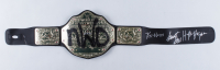 Hulk Hogan, Scott Hall, & Kevin Nash Signed WWE World Heavyweight Wrestling Championship Belt (JSA COA) (See Description) at PristineAuction.com