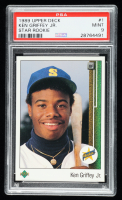 Ken Griffey Jr. 1989 Upper Deck #1 RC (PSA 9) at PristineAuction.com