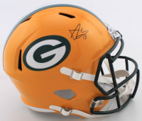 Allen Lazard Signed Packers Full-Size Speed Helmet (Beckett COA) at PristineAuction.com