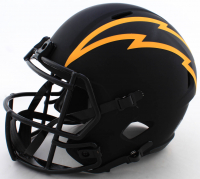 Antonio Gates Signed Chargers Full-Size Eclipse Alternate Speed Helmet (Beckett COA) at PristineAuction.com
