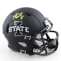 Allen Lazard Signed Iowa State Cyclones Eclipse Alternate Speed Mini-Helmet (Beckett COA) (See Description) at PristineAuction.com