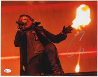Corey Taylor Signed Slipknot 11x14 Photo (Beckett COA) at PristineAuction.com