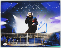 Corey Taylor Signed Slipknot 11x14 Photo (Beckett COA) at PristineAuction.com