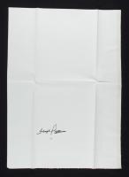 Floyd Patterson Signed 17x25 Canvas Page (JSA COA) (See Description) at PristineAuction.com