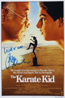 "Ralph Macchio Signed ""The Karate Kid"" 11x17 Movie Poster Print Inscribed ""Wax On"" (ACOA Hologram) at PristineAuction.com"