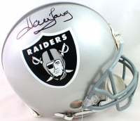 Howie Long Signed Raiders Full-Size Authentic On-Field Helmet (Beckett COA) at PristineAuction.com