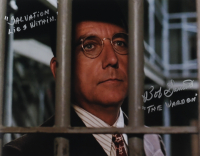 "Bob Gunton Signed ""The Shawshank Redemption"" 11x14 Photo Inscribed ""Salvation Lies Within"" & ""Warden Norton"" (AutographCOA COA) at PristineAuction.com"